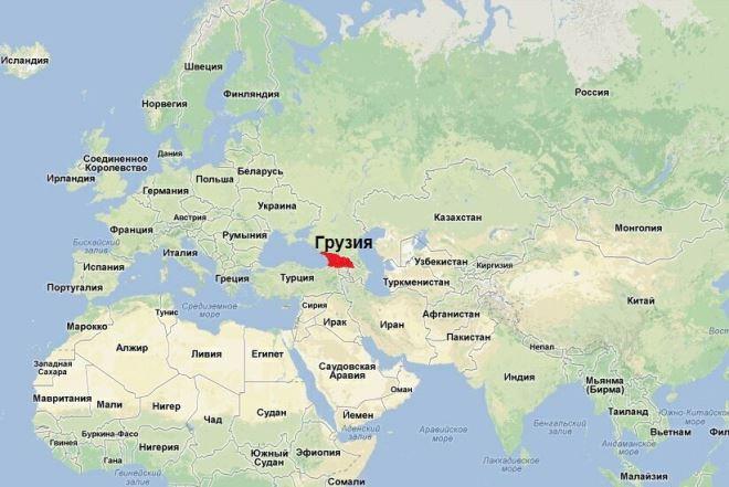 Карта Корфу